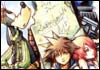 Kingdom Hearts Sora Riku Kairi Donald and Goofy Official Artwork