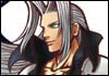 Kingdom Hearts Sephiroth Official Artwork