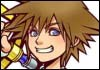 Kingdom Hearts Sora Official Artwork