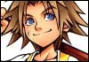 Kingdom Hearts Tidus Official Artwork