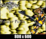 Sora Master Form Kingdom Hearts 2 Wallpaper