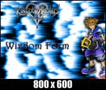 Sora Wisdom Form Kingdom Hearts 2 Wallpaper