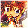Sora Kingdom Hearts Chain of Memories Avatar