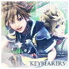 Sora Roxas Kingdom Hearts 2 Final Mix Avatar