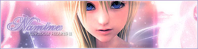 Kingdom Hearts 2 Namine Skrik Signature